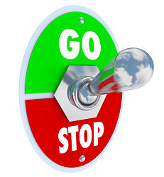 Stop-go-switch