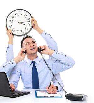Busy-businessman