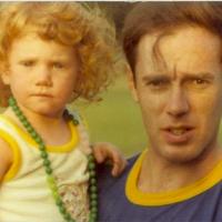 Lauren and dad