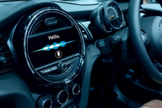 Voice recognition in a car