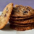 Salty oatmeal chocolate chip cookies