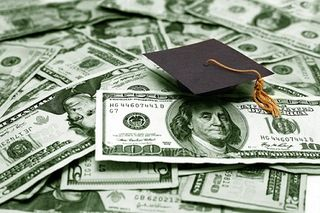 Money and graduation cap