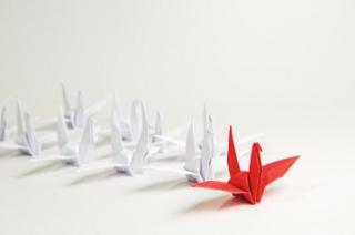Paper cranes leadership