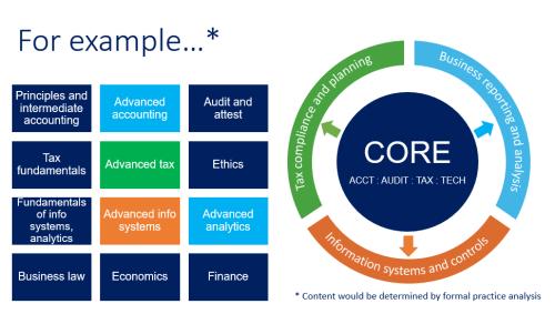 Examples of core vs disciplines